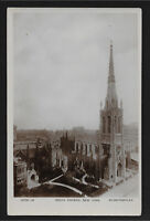Grace Church New York NY RPPC postcard
