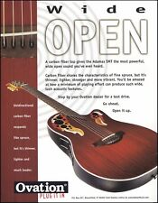 The 1998 Ovation Adamas SMT Series Acoustic Guitar ad 8 x 11 advertisement