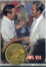 1973 SUPER BOWL VII SB 7 Gold Coin REDSKINS  Allen/Shula  MIAMI DOLPHINS