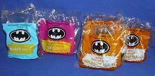 Lot of 5 McDonalds Toys 1991 (3) Batman (1) Catwoman (1) Penguin Vehicles NIP