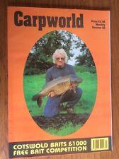 Carpworld Number 25 Magazine Carp Early Back issues