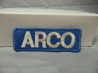 Vintage Arco Gas Service Station Attendant Embroidered Patch 4.5/""