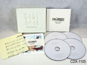 Final Fantasy 9 IX Original Soundtrack Limited Ed CD OST Japan Import US Seller