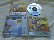 Spyro 2 Gateway to Glimmer PS1 (COMPLETE) platinum Sony Playstation Dragon