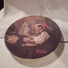 Collector Plate #4 Norman Rockwell Heritage Collection, Ship Builder Cp-61
