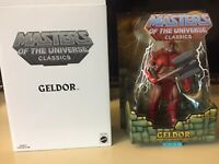 MOTU Classics Y3191 Geldor NEW!! in Box with Mailer