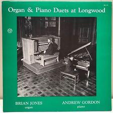 Organ & Piano Duets at Longwood Gardens Brian Jones Andrew Gordon LP SK-279