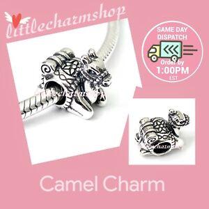New Authentic Genuine PANDORA Silver Camel Charm - 791226 RETIRED