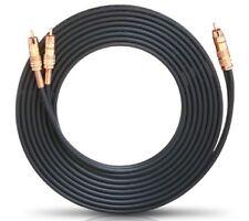 Oehlbach NF 1 Y-sub Subwoofer Y-cinch-kabel schwarz 3.00m