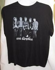 One Direction Mens Black Band Tshirt Gildan Size L Large Cotton Blend Nice (O)