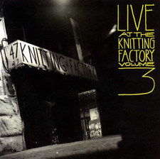 """""""LIVE AT THE KNITTING FACTORY Volume 3"""" (CD 1994) 12-Tracks ***EXCELLENT***"""