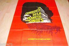 LA CONQUETE DE LA PLANETE DES SINGES !  affiche cinema 1971