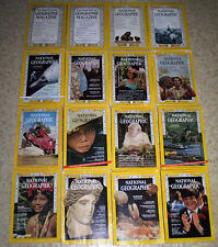 NATIONAL GEOGRAPHIC 1930 to PRESENT YOUR CHOICE