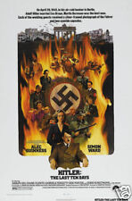 Hitler The last 10 days Alec Guinness movie poster print