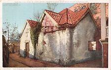 CHARLESTON SOUTH CAROLINA OLD POWDER MAGAZINE~BUILT IN 17th CENTY POSTCARD 1910s