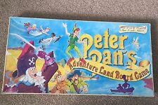 Peter Pan's Adventure Land Juego De Mesa Serpientes & Escaleras Tipo Juego Raro