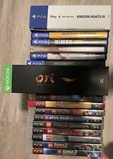 PlayStation 3 & 4 Game bundle w/Ori Sequel