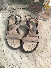 Teva Women's Strappy Sandals, Gray Tan , Sz 8.5 M US