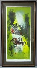 HOI LEBADANG__Orig Litho by Noted Vietnamese Artist__Sign/Framed__ExC_SHIPS FREE