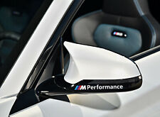2 x For BMW M PERFORMANCE Mirror M Sport VINYL STICKERS Stripes DECAL Graphics