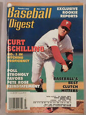 Baseball Digest March 1998 CURT SCHILLING PHILLIES