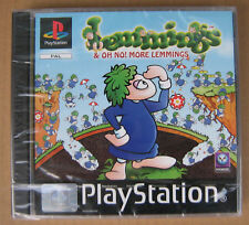 Videogame Lemmings & No More Lemming PSX PSONE NEW&SEAL