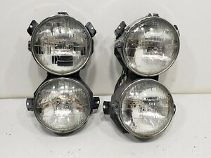 1967 Mercedes 250se Used HEADLIGH ASSEMBLIES BULB RIGHT LEFT PAIR Parts