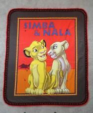TODDLER CRIB QUILT/SHEET SET- SIMBA & NALA FROM DISNEY'S LION KING