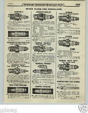 1919 PAPER AD 3 PG Champion Spark Plug Heavy Stone Priming Bougie Mercedes