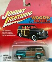 Johnny Lightning Woodys & Panels - '41 Chevy Special Deluxe Wagon