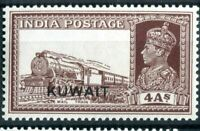 KUWAIT 1939 4a BROWN  (SG 43) MNH