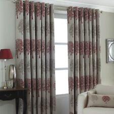 Riva Paoletti Warner Eyelet Semi Sheer Curtain, 229 x 137cm