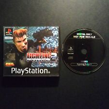 FIGHTING FORCE 2 PlayStation UK PAL English・♔・BLOCKBUSTER EX RENTAL complete PS1