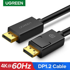 Ugreen Displayport DP to DP Cable 2m Video Audio Lead 4K @60Hz for HDTV Graphic