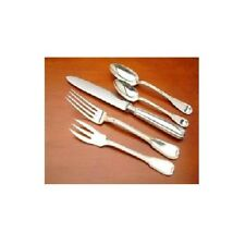 Lucrezia by Buccellati  Sterling Silver flatware 5 Piece Place Setting NEW