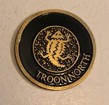 Troon North Golf Club golf ball marker.