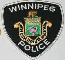 WINNIPEG POLICE Canada Canadian PD patch #2