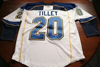 St. Louis Blues Alumni Signed Autograph Tom Tilley Jersey Game Worn Hockey