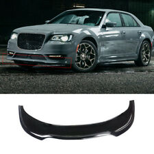 For 2015-2020 Chrysler 300C Front Bumper Lip Gloss Black Spoiler Chin Splitter