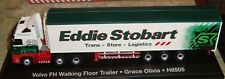 EDDIE STOBART - VOLVO FH WALKING FLOOR TRAILER TRUCK - GRACE OLIVIA -1:76 -BOXED