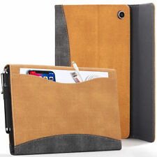 Apple iPad 10.2 2019 Case, Cover, Stand - Tan + Stylus & Screen Protector