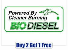 BIODIESEL Logo Sticker - gas clean fuel recycle bio diesel USA GoGoStickers