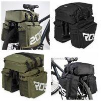 Roswheel 37L Bicycle Rear Pannier Bag Waterproof Bike Storage Pouch Durable