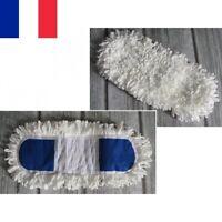 Recharge Serpillière Franges Serpillère Balai Tête Remplacement Plate Coton MOP