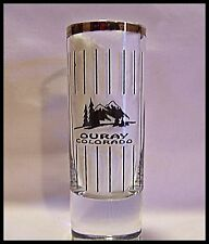 Shot Glass Ouray Colorado Rocky Mountains Shooter Ice Park Hot Springs New 5007