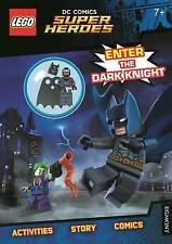 LEGO DC Super Heroes: Enter the Dark Knight (Activity Book with Batman...