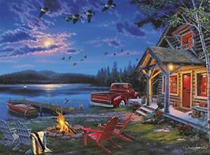 Buffalo Games Darrell Bush The Perfect Getaway Piece Jigsaw Best Sale Premium