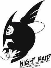 Akame Ga Kill -- Night Raid Logo Anime Decal Sticker for Car/Truck/Laptop