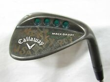 Used RH Callaway Mack Daddy 64.10* Single Wedge -  KBS Tour-V Wedge Flex Steel