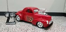Radio Controlled  Big Scale 1941 Willis Blown Coupe RC Car
